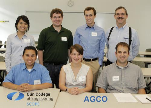 AGCO Members smiling for team picture